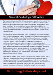 General Cardiology Fellowship